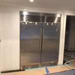 Commercial Fridge metal trim
